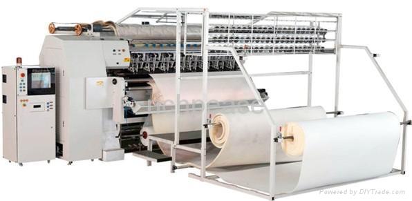 Computer Multi-needle Chain-stitch quilting machine 1