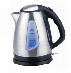1.7L stainless steel cordless kettle JLS-150D