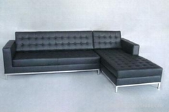 Hotel/Living Room Furniture Florence Knoll Grande Corner Sectional Sofa