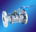 3Pc Ball Valve with Flange