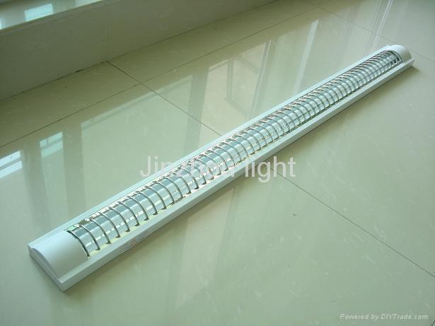 Simple T5 Grid fluorescent lighting fixture light fitting 1 - Inspirational t5 fluorescent light fixtures Photo