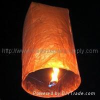Cylinder-shaped Sky Wish Lantern,Khom Loy