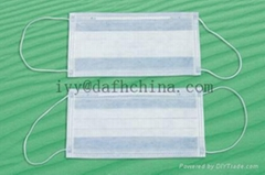anti-bacterial NDM1 face mask,3-ply face mask with CE/ISO/Nelson Certification
