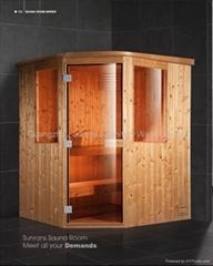 attractive infrared sauna room ,sauna room SR 110