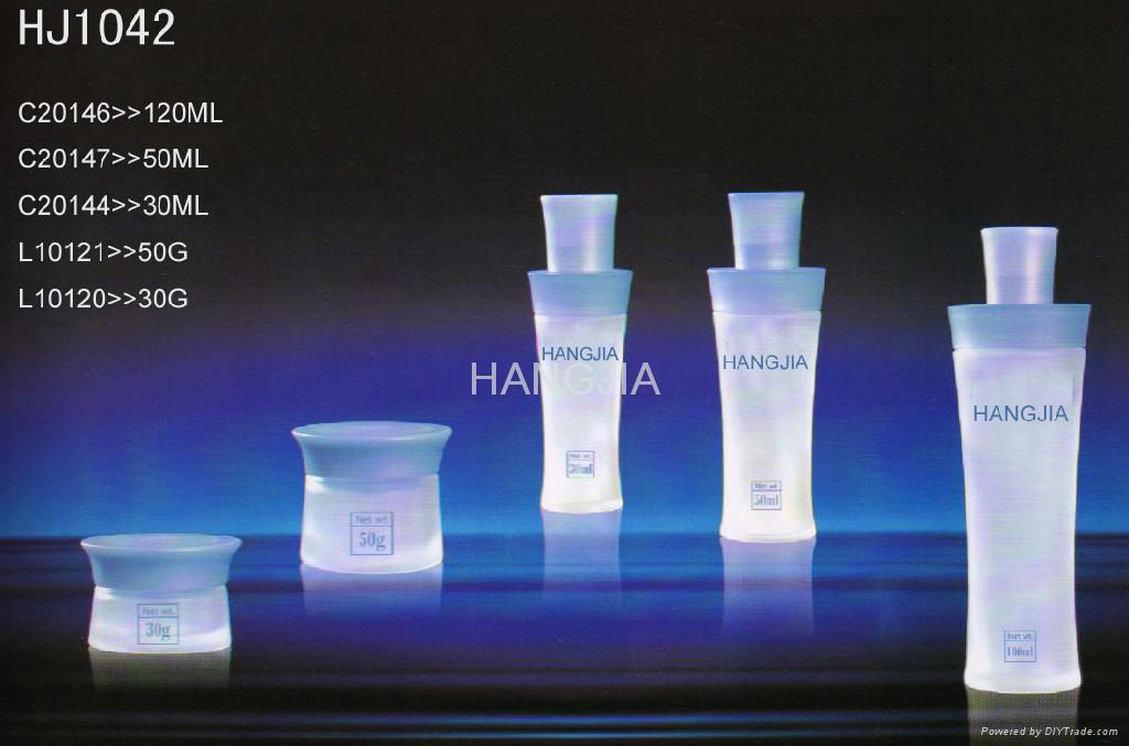 HJ1036 glass cream and lotion jar / bottle 3