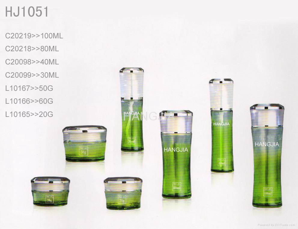 HJ1036 glass cream and lotion jar / bottle 5