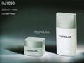 HJ1090   glass cream and lotion jar /