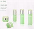 HJ1090   glass cream and lotion jar / bottle 3