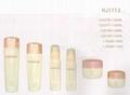 HJ1112  glass cream and lotion jar /