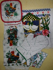 Kitchen Towel & Glove