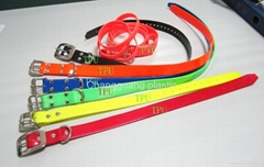 TPU dog collar, pet collar