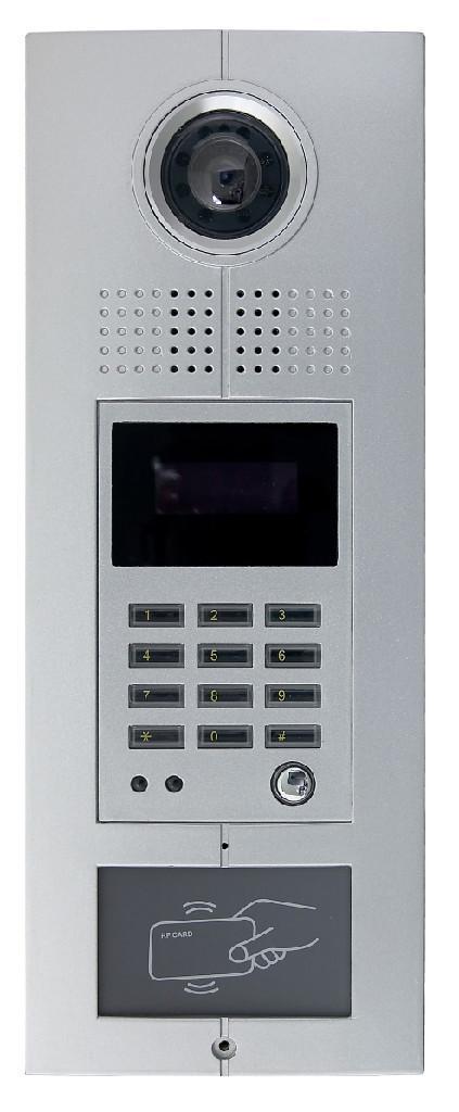 安徽楼宇可视对讲系统黑白可视门铃机 3