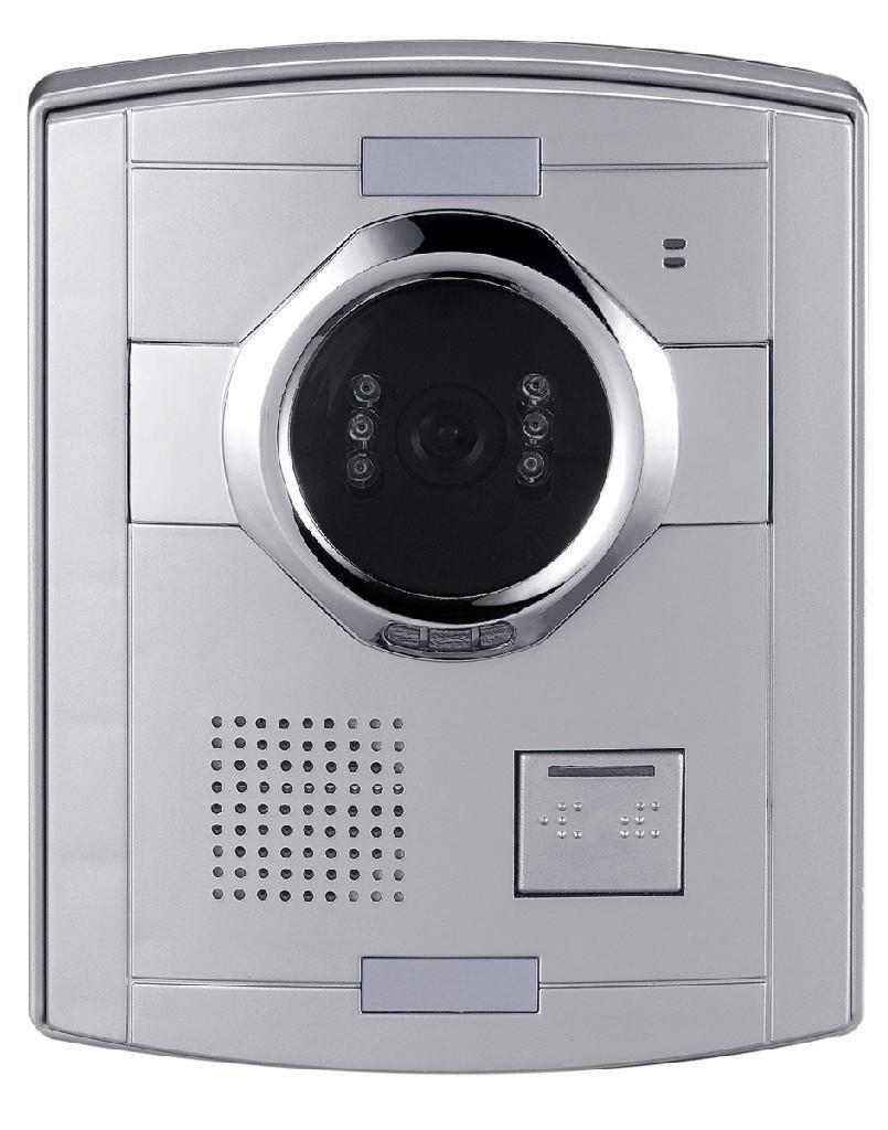安徽楼宇可视对讲系统黑白可视门铃机 5