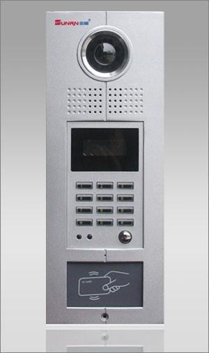 联网型可视楼宇对讲系统,数码型主机,带IC门禁 1