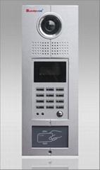 联网型可视楼宇对讲系统,数码型主机,带IC门禁
