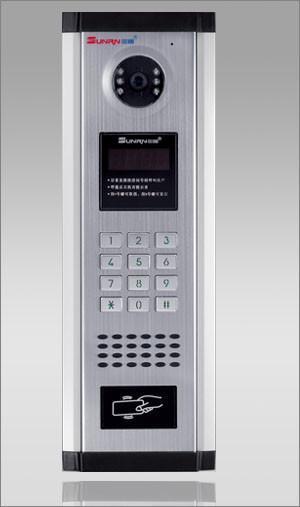 联网型可视楼宇对讲系统,数码型主机,带IC门禁 2