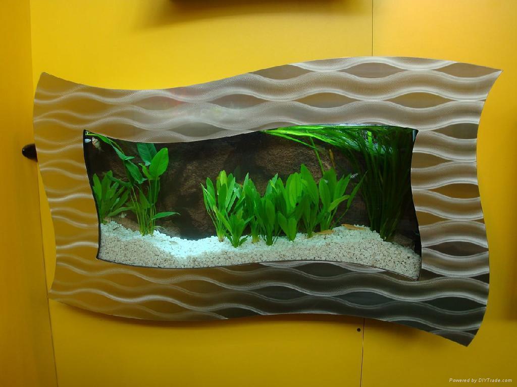 Aquarium fish tank china - Sell Wall Aquarium And Fish Tank Fgl 1