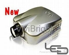 维亮特迷你便携式LED投影机,V32HD带HDMI端口