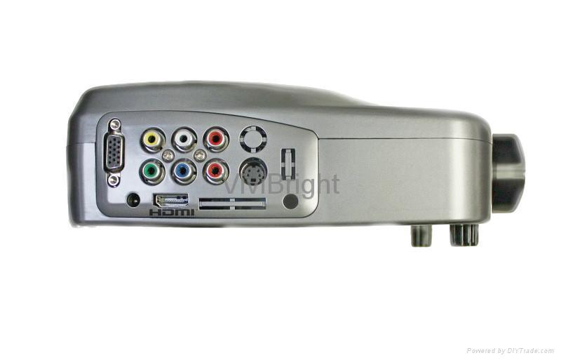 維亮特迷你便攜式LED投影機,V32HD帶HDMI端口 3