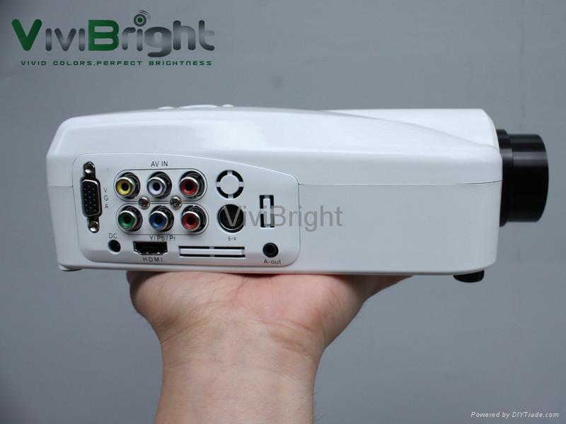 維亮特高清迷你LED投影機V32HD 1