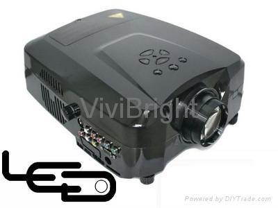 維亮特高清迷你LED投影機帶HDMI 2