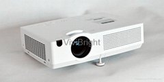 VIVIBRIGHT 3500lumens 3 LCD Projector PLX8000HD with HDMI