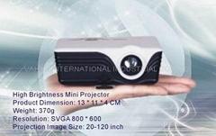 High Brightness Mini Projector