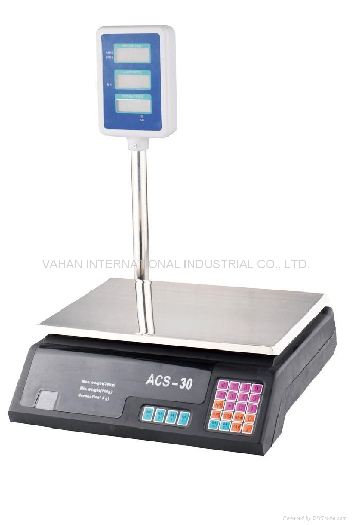 Electronic Pricing Scale 1