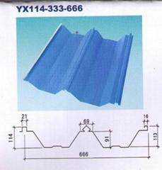YX114-333-666彩鋼板