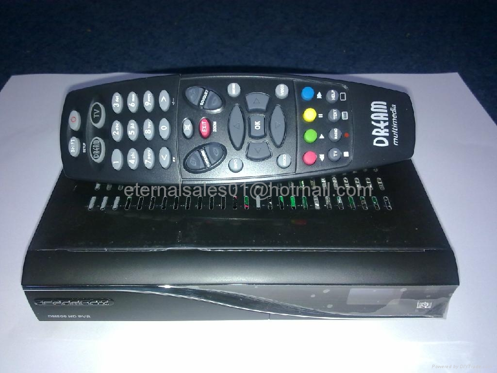 digital satellite receiver, DM800 HD PVR receiver - Dreambox