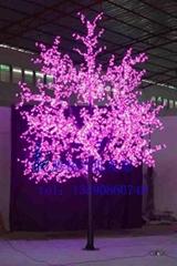 龍騰燈飾櫻花樹