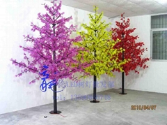 龍騰燈飾led楓葉樹