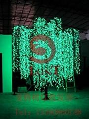龍騰燈飾led柳樹