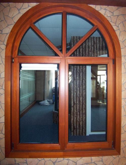 Wood window 70 series jixin china other windows for Wood window manufacturers
