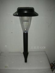 solar plastic light