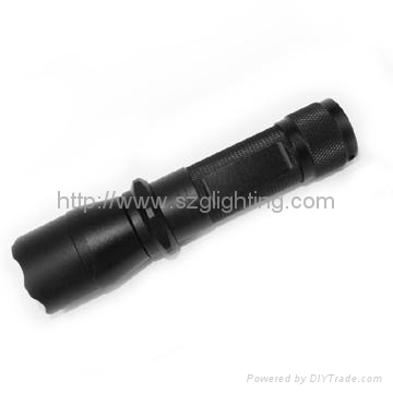 GLT-W150 CREE-Q5 LED,225 lumens  high power, 150 meters waterproof flashlight 2