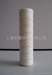 脱脂棉线绕滤芯玻璃纤维线绕滤芯