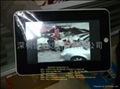 7寸觸摸屏帶wifi數碼相框帶攝像頭支持上網、即時聊天MID 2