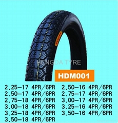 motorcycle tire 2.50-17,3.00-18 and so on