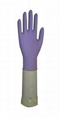 Nitrile working gloves-Purple