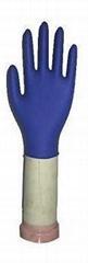 Nitrile working gloves-Dark blue