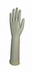 Nitrile working gloves-White