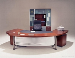 modern wood executive desk