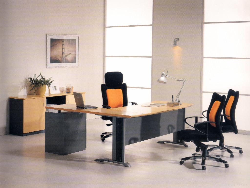 Modern Office Furniture Product ~ Modern wood executive desk xz ed dalian xinzhi