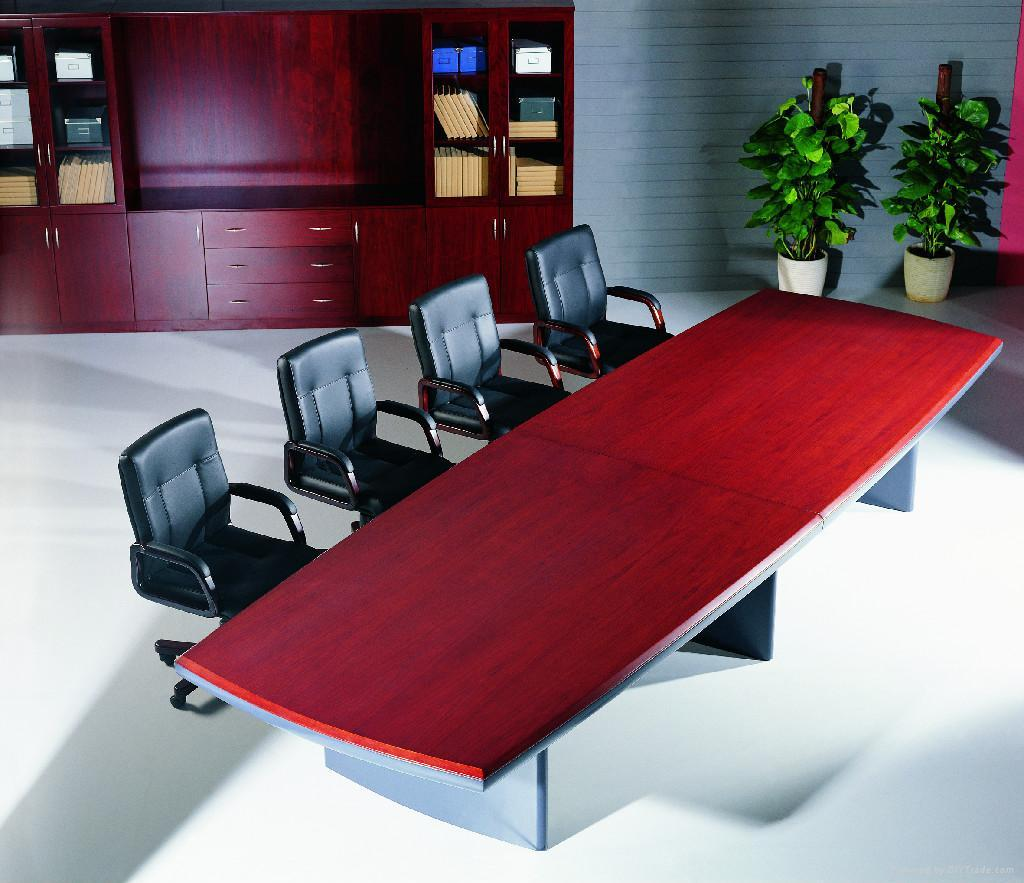 Modern Wood Conference Table