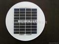 2.5w太陽能板草坪燈