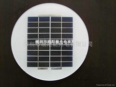 2.5w太阳能板草坪灯