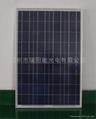 100w多晶硅太陽能板