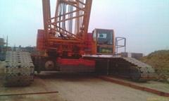 Used CC2500-1 Used 500ton TEREX Crawler Cranes.