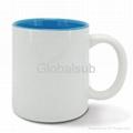 11oz Sublimation Mug (inner color mug)